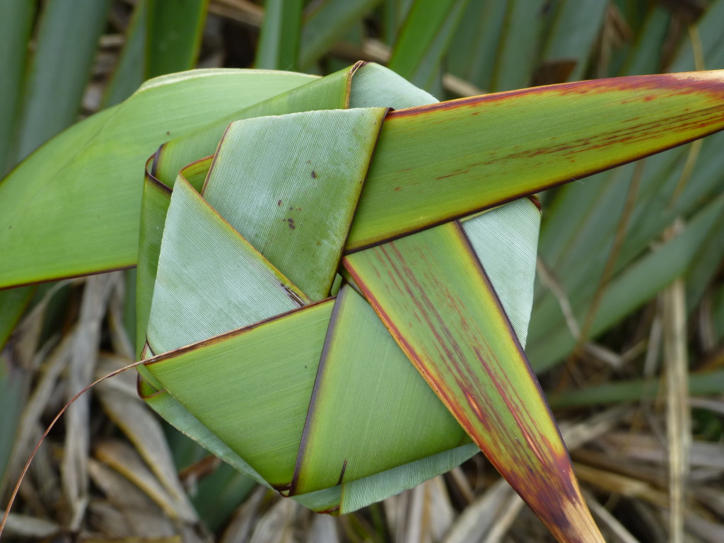 Woven Flax Frond