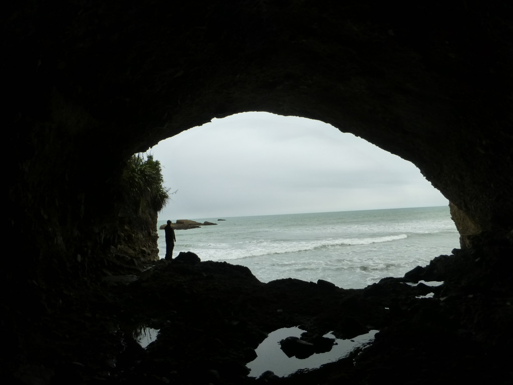 Sea Access to Cave