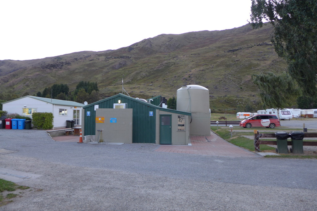 Ugly but Serviceable Wanaka Camp