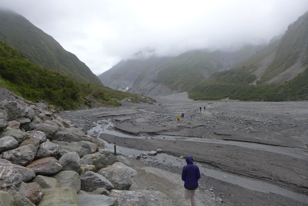 The Long Walk to What is Left of Fox Glacier