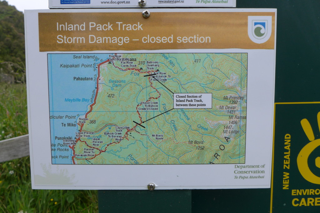 Inland Pack Track Conditions