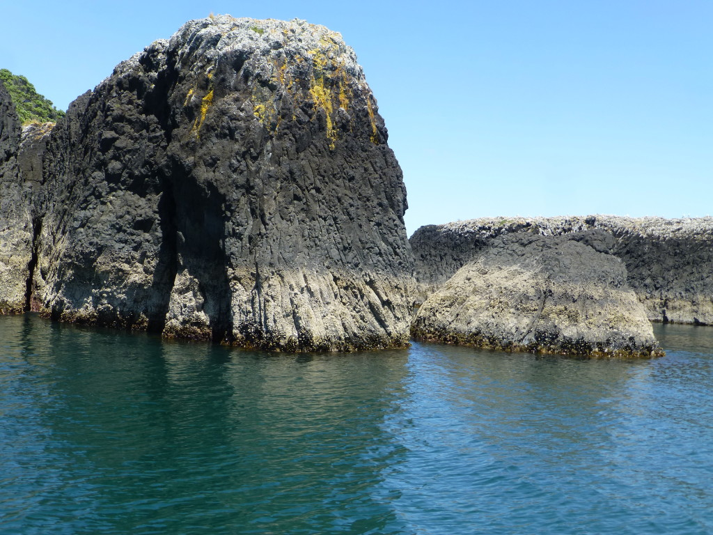 Lava Islands in Bay