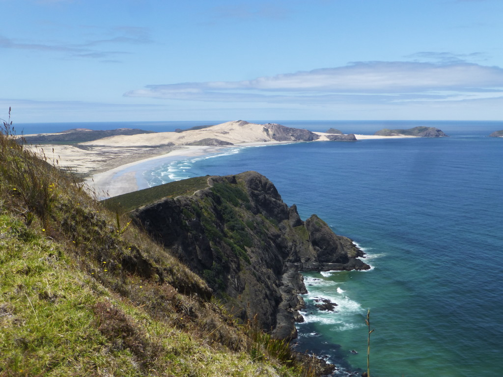 Cape Maria Bay from Reinga Light