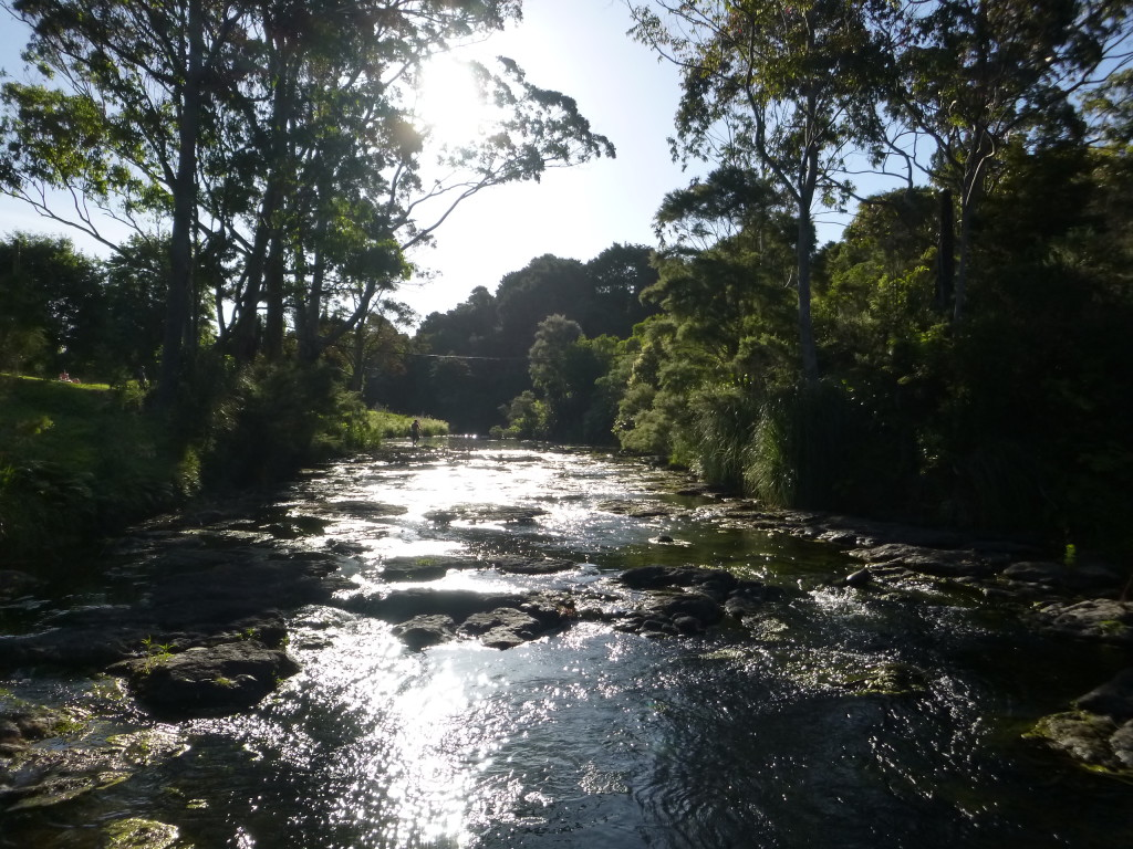 River at Kirikiri Camp
