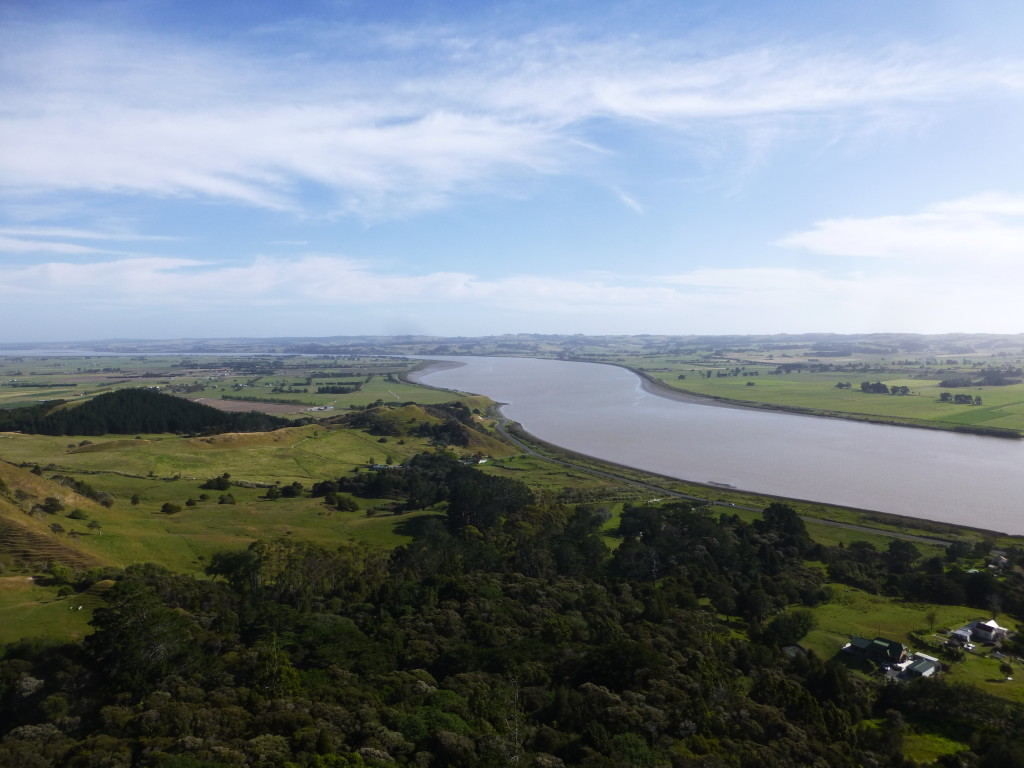 View of the River From Top of Tokatoka Neck