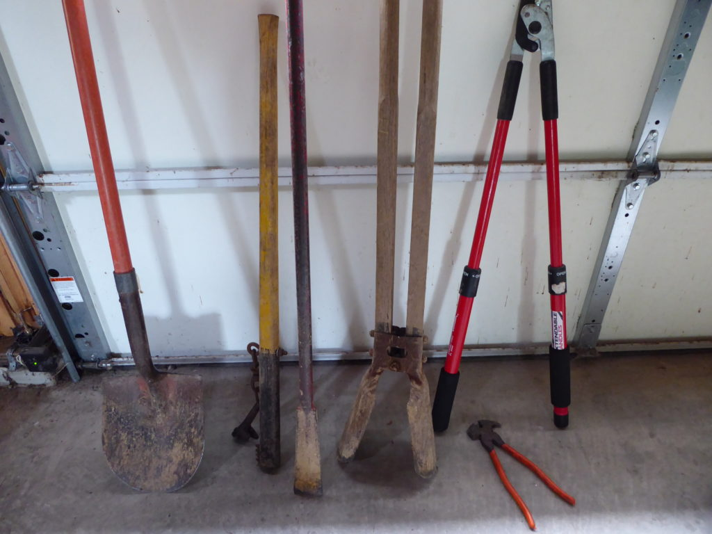 Some of the Fence Tools