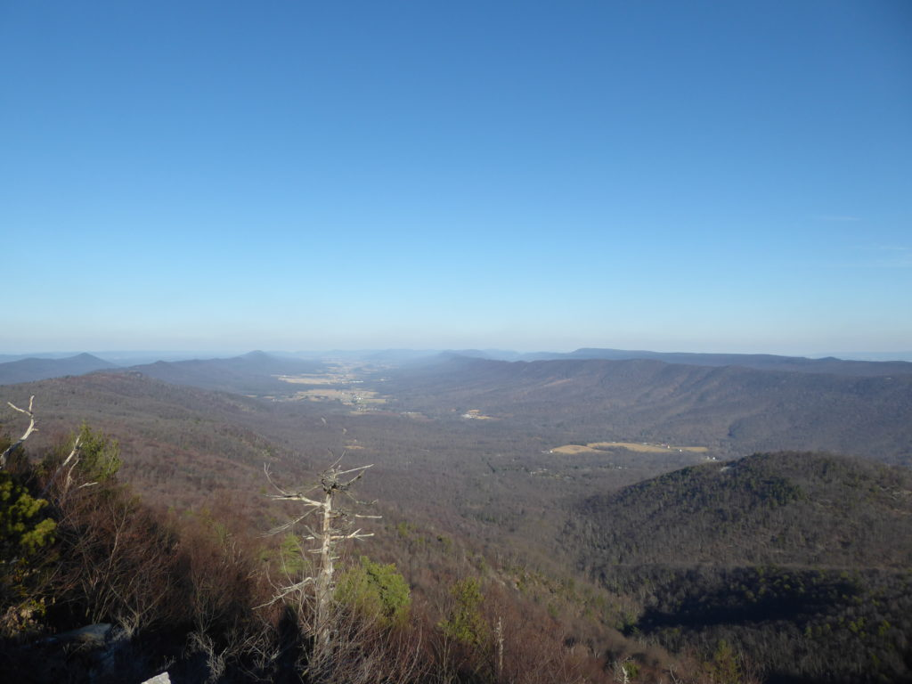 Looking North from Big Mt Overlook