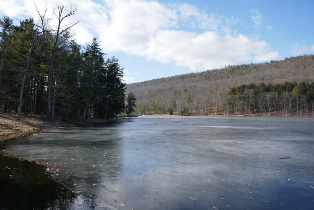 Ice Covered Cowans Gap Lake