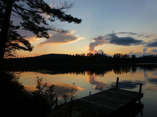 Adirondack Trip- Boathouse on Rainbow Lake, Part 1