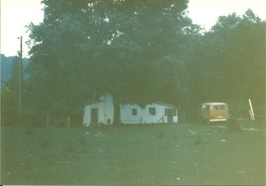 My 72 VW Bus at Owl Hollow