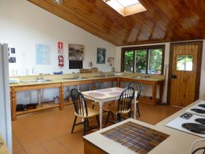 Camp Kitchen at Manopouri