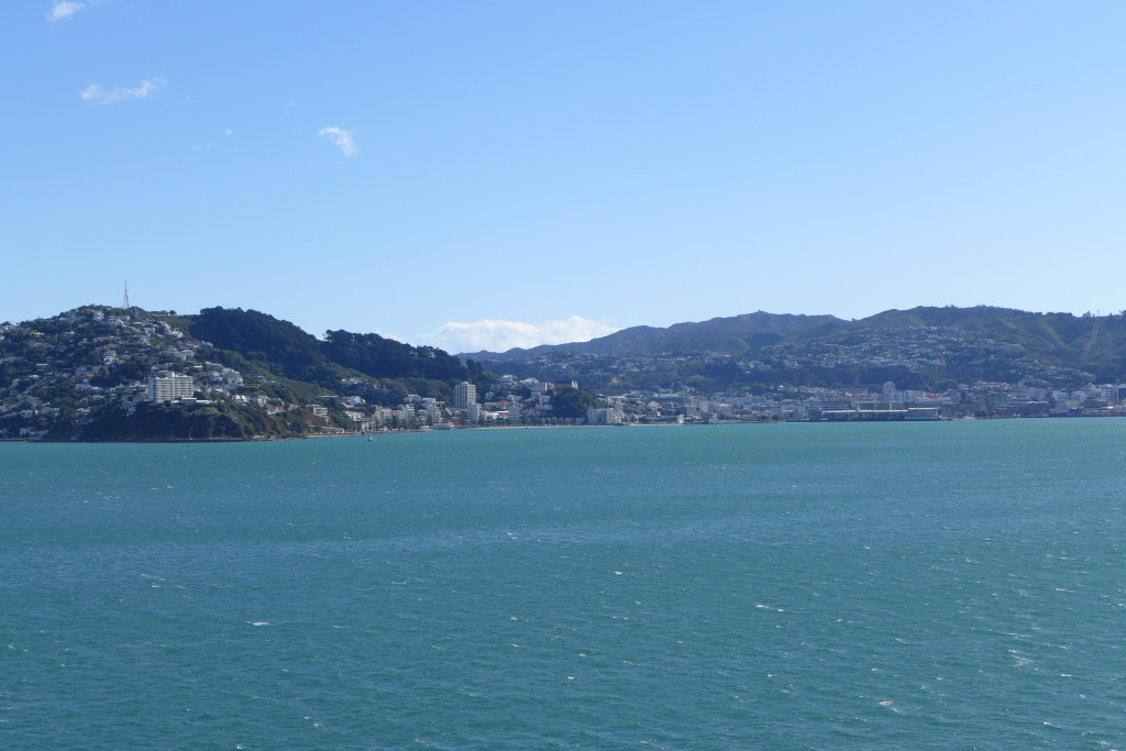City of Wellington looms Large