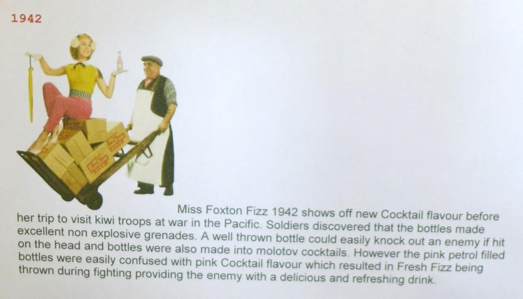 Foxton Fizz as Molotov Cocktail