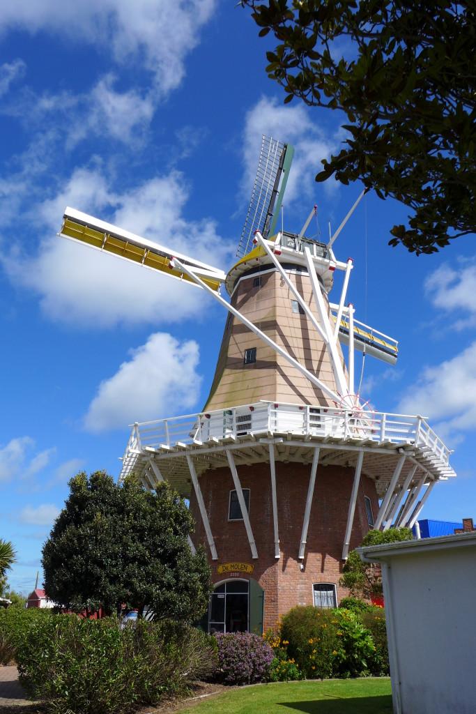 Foxton Windmill- built in 1972