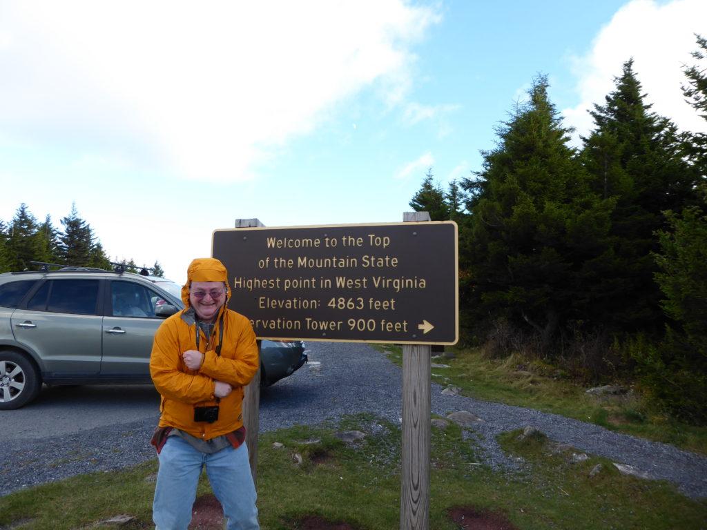 Spruce Knob Sign