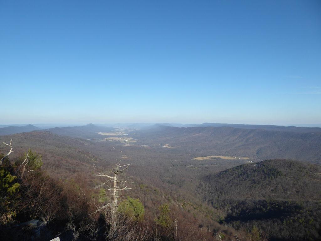 Looking North from Big Mt Overlook
