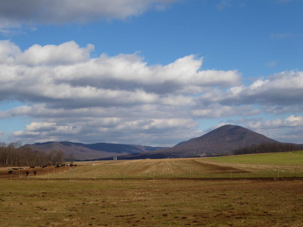 Farmland to Mountains