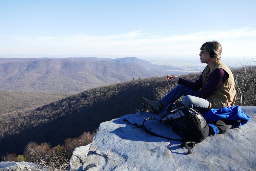 Big Mt Looking South East