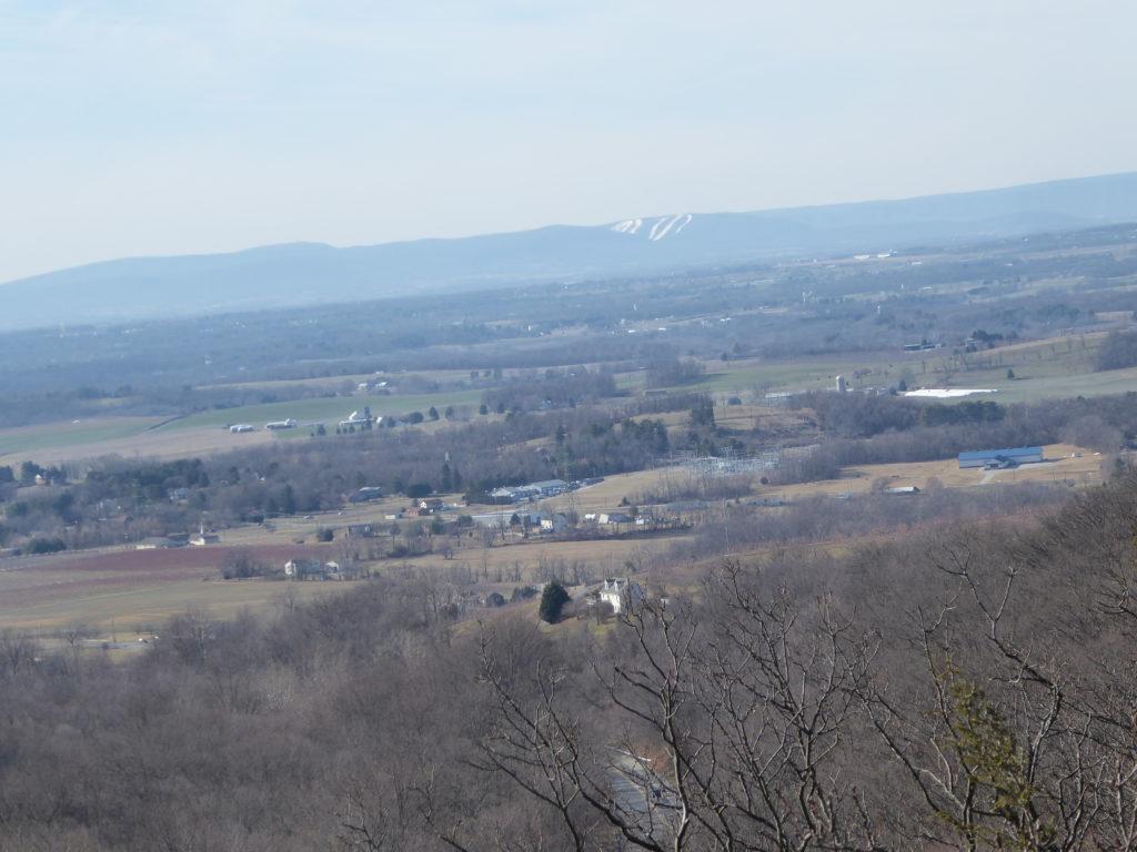 White Tail Ski Across the Valley