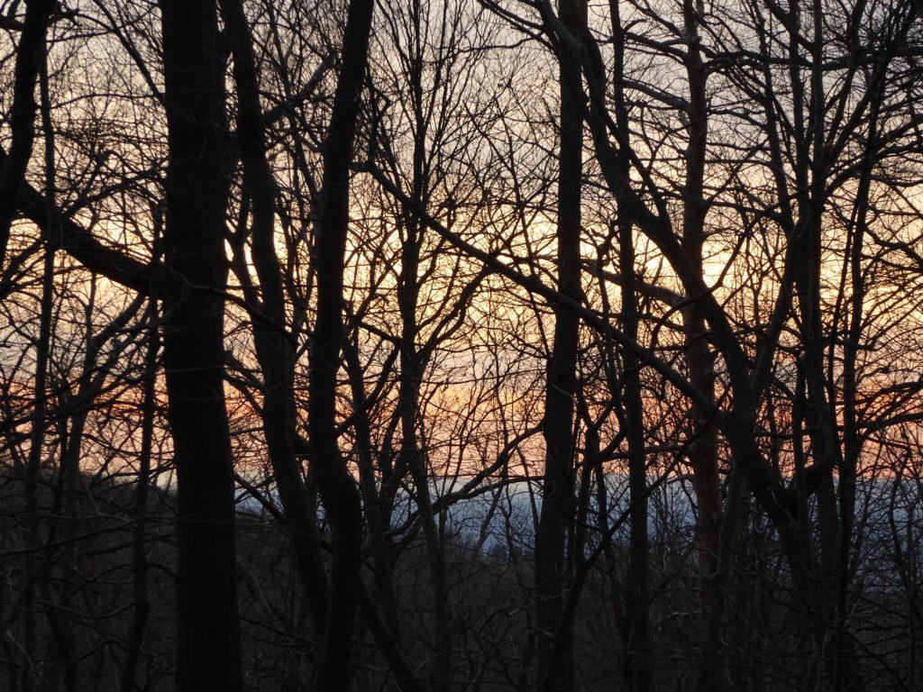 Sundown on the Trail