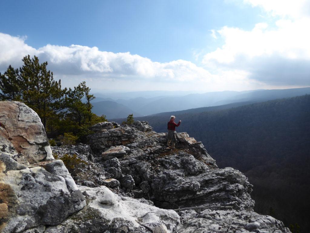 Conservancy Rocks Below Pikes Knob