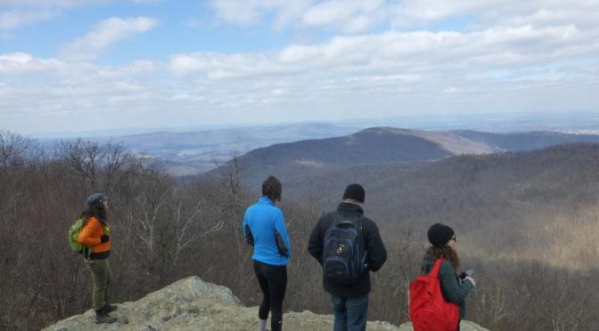 Hiking VA-Compton Rocks